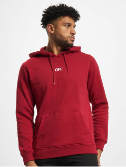 Mister Tee Sweat capuche Off  rouge