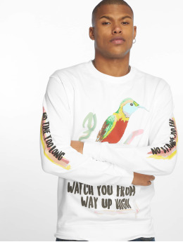 Mister Tee Swetry Aquarell Watch bialy