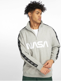 Mister Tee Swetry Nasa Wormlogo Troyer Astronaut szary