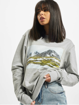 Mister Tee Swetry Ladies Local Planet Crewneck szary