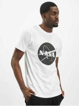 Mister Tee T-paidat Nasa Black-And-White Insignia valkoinen