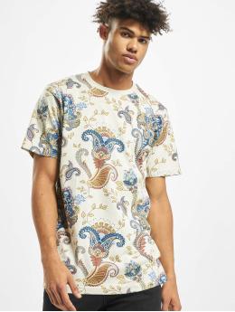 Mister Tee T-Shirt Paisley  beige