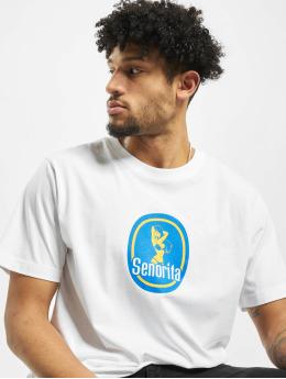 Mister Tee T-shirt Senorita bianco