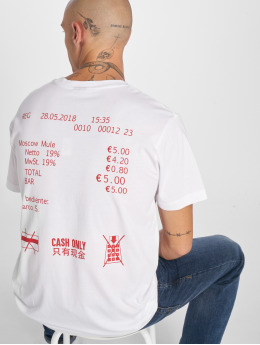 Mister Tee T-shirt Cash Only  bianco