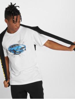 Mister Tee T-shirt Go Fast bianco