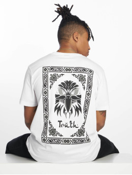 Mister Tee T-shirt Truth bianco