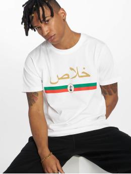 Mister Tee T-shirt Khalas Tee bianco