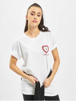 Mister Tee T-shirt Like You bianco