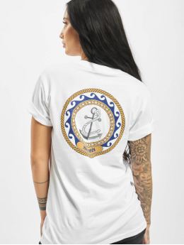 Mister Tee T-shirt Moin Moin bianco
