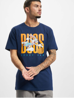 Mister Tee T-shirt Space Jam Big Bugs Playing blå