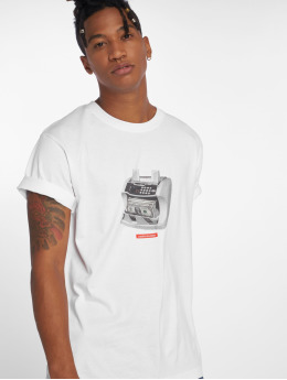 Mister Tee T-Shirt Cashcounter blanc