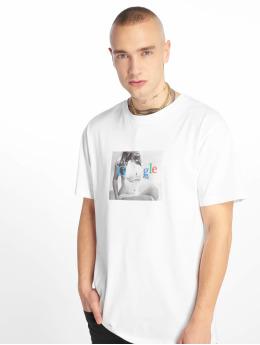 Mister Tee T-Shirt Boogle blanc