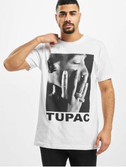 Mister Tee T-Shirt Tupac Profile blanc