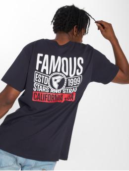 Mister Tee T-Shirt Established blau