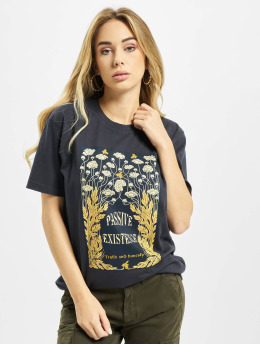 Mister Tee T-Shirt Existence  blau