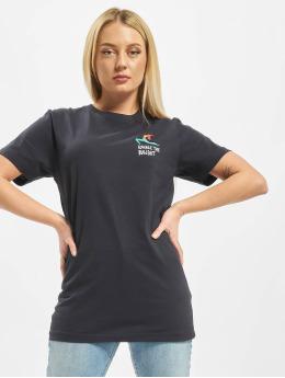 Mister Tee T-Shirt Ladies Exhale bleu