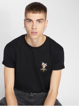 Mister Tee T-shirt Alpaca nero