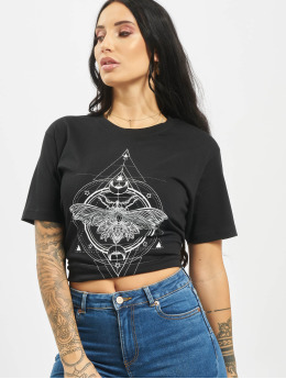 Mister Tee T-Shirt Moth noir