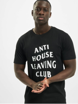 Mister Tee T-Shirt Anti House Leaving noir