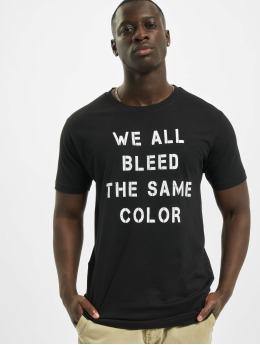 Mister Tee T-Shirt Blood Color noir