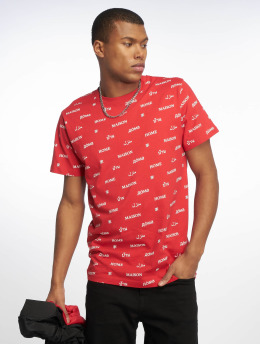 Mister Tee T-shirt Home röd