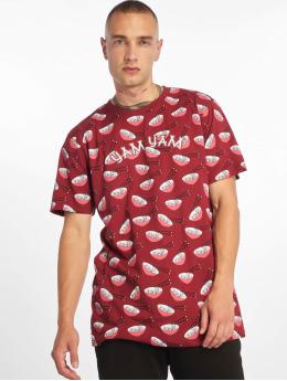 Mister Tee T-Shirt Yam Yam Aop Ramen rouge