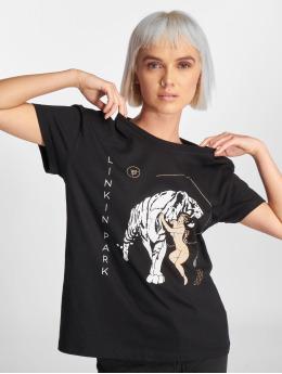 Mister Tee T-Shirt Ladies Linkin Park Tiger Box schwarz