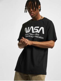 Mister Tee T-Shirt Nasa Wormlogo schwarz