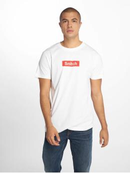 Mister Tee T-shirt Snitch vit