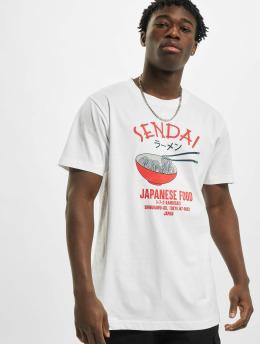 Mister Tee T-Shirt Sendai Ramen 2 weiß