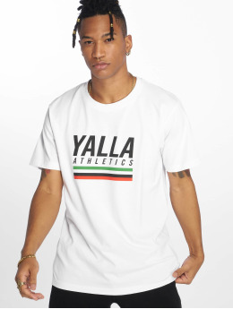 Mister Tee T-Shirt Yalla Athletic white