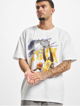 Mister Tee T-Shirt Attack Player Oversize white