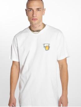 Mister Tee t-shirt O Zapft Isch wit