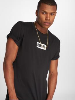 Mister Tee t-shirt Habibi zwart