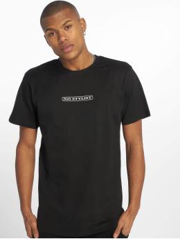 Mister Tee t-shirt No Stylist zwart