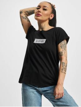Mister Tee t-shirt Next Boyfriend zwart