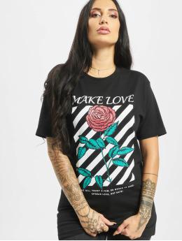 Mister Tee t-shirt Make Love zwart