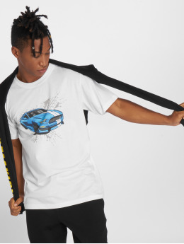 Mister Tee T-shirts Go Fast hvid