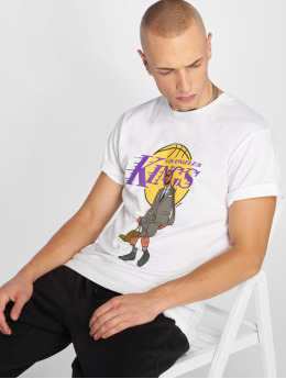 Mister Tee T-shirts Welcome To La hvid