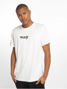 Mister Tee T-shirts Fuck Off hvid
