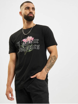 Mister Tee T-Shirty Mister L´Amour Toujous czarny