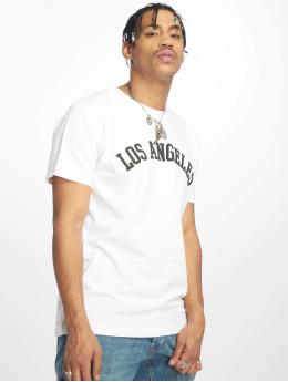 Mister Tee T-skjorter Los Angeles hvit