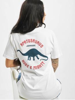 Mister Tee T-skjorter Jurassic hvit