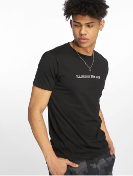 Mister Tee T-skjorter Raised By Hip Hop svart