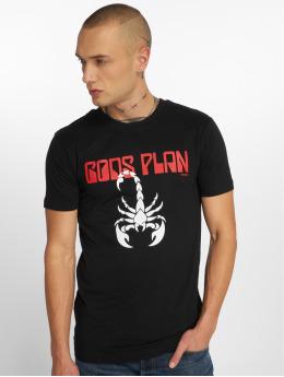 Mister Tee T-skjorter Gods Plan svart