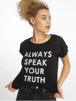 Mister Tee T-skjorter Speak Truth svart