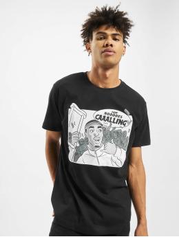 Mister Tee T-skjorter Caaalling  svart
