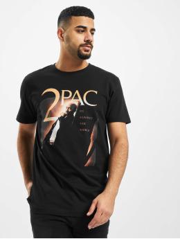 Mister Tee T-skjorter Tupac Me Against The World Cover svart