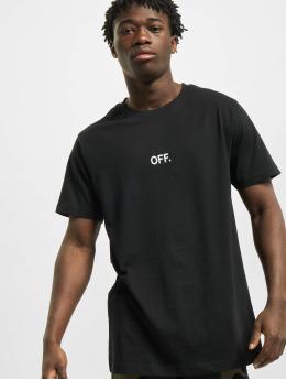 Mister Tee T-skjorter Off Emb svart