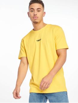 Mister Tee Tričká Taxi žltá